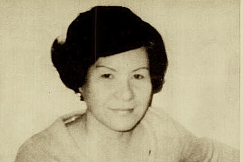 Did the ghost of Teresita Basa identify her murderer?