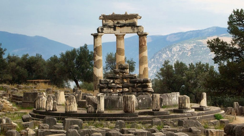 Sanctuary of the Oracle at Delphi