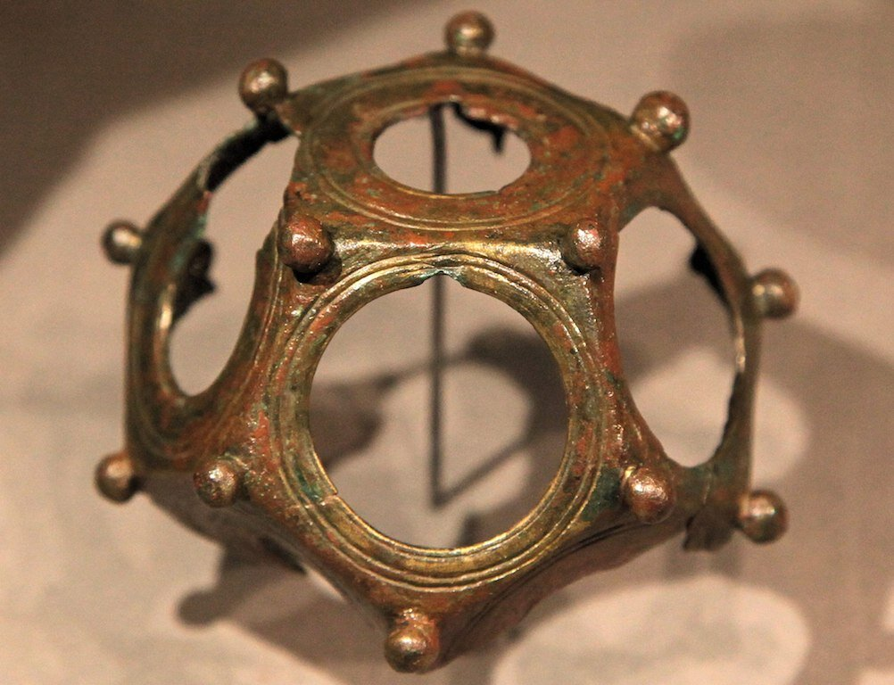 Dodecahedron from Thermae