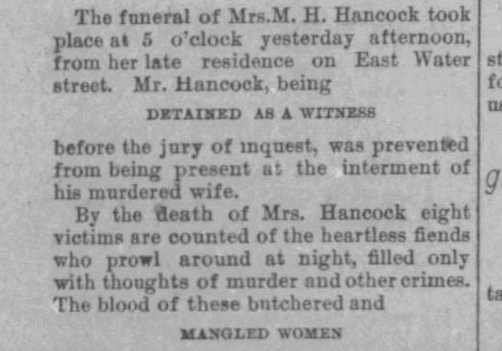 Newspaper clip from Austin American-Statesman Dec. 30, 1885.