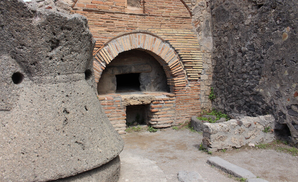 bakery in the history of pompeii