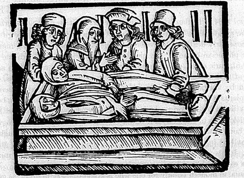 Euricius Cordus (1486-1535 drawing of the Sweating sickness, Strassbourg: 1529. Credit: Wellcome Images Creative Commons Attribution only license CC BY 4.0 http://creativecommons.org/licenses/by/4.0/