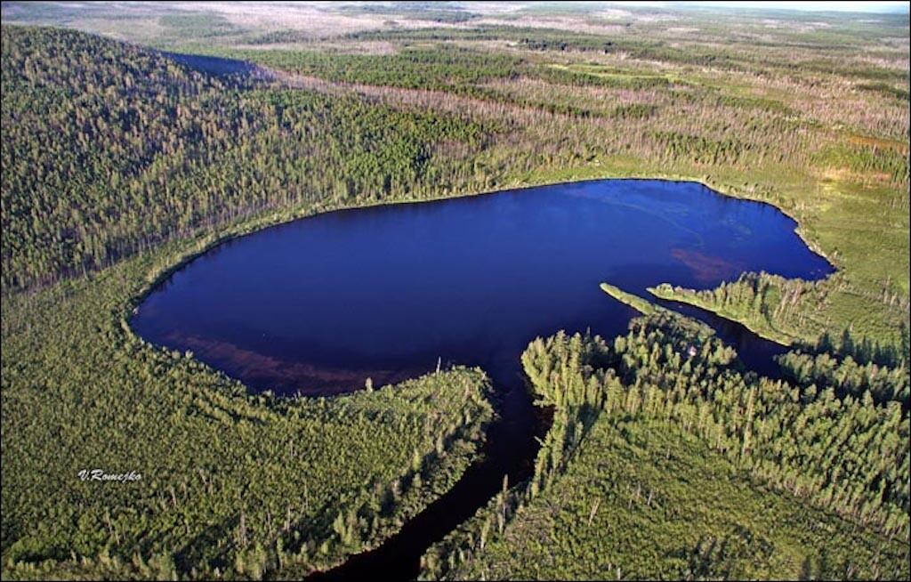Lake Cheko.