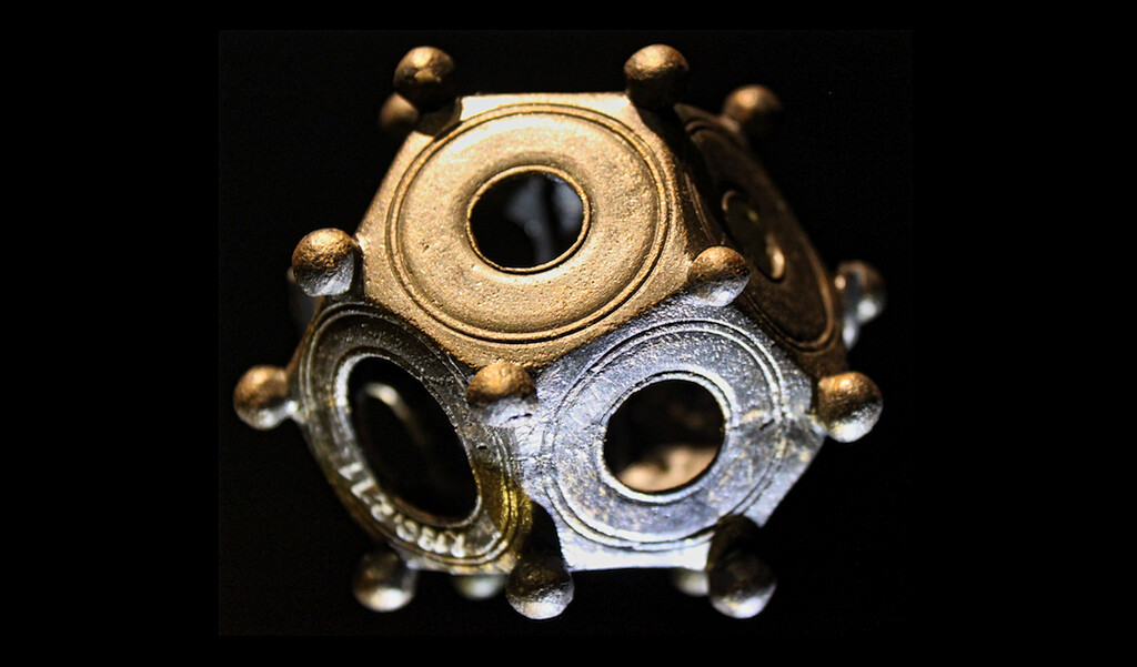 Roman dodecahedron from Stuttgart