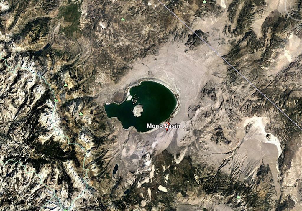 Mono Basin and Mono Lake