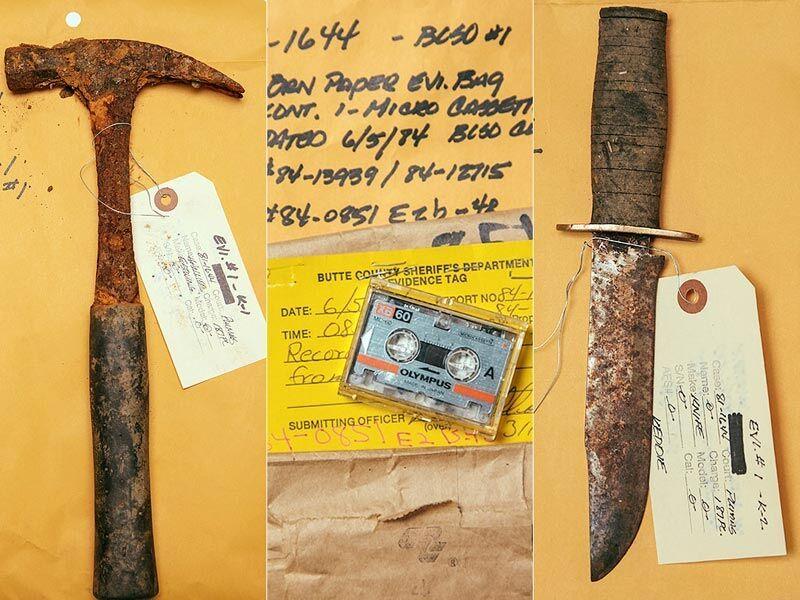 Potential evidence in the Keddie Murders