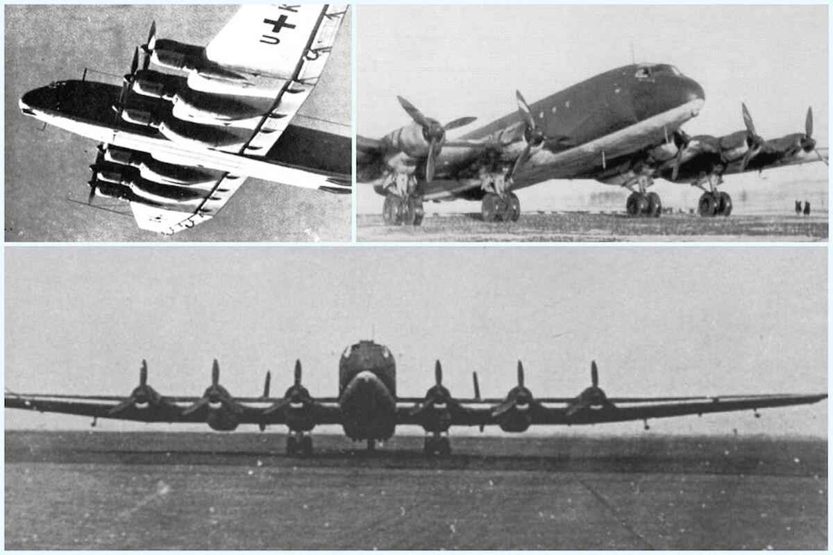 junkers 390 amerika bomber