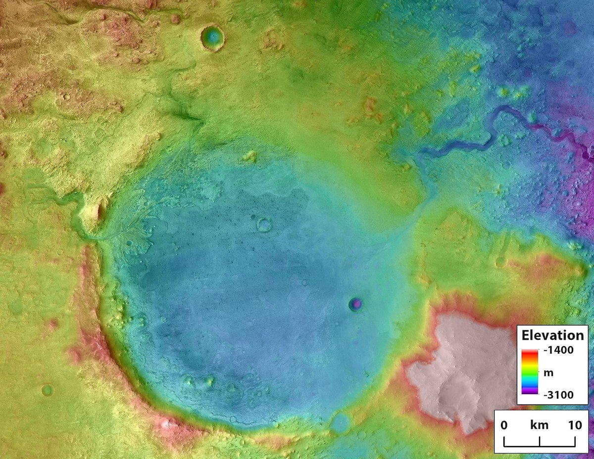 Jezero Crater Lake may have evidence of life on mars