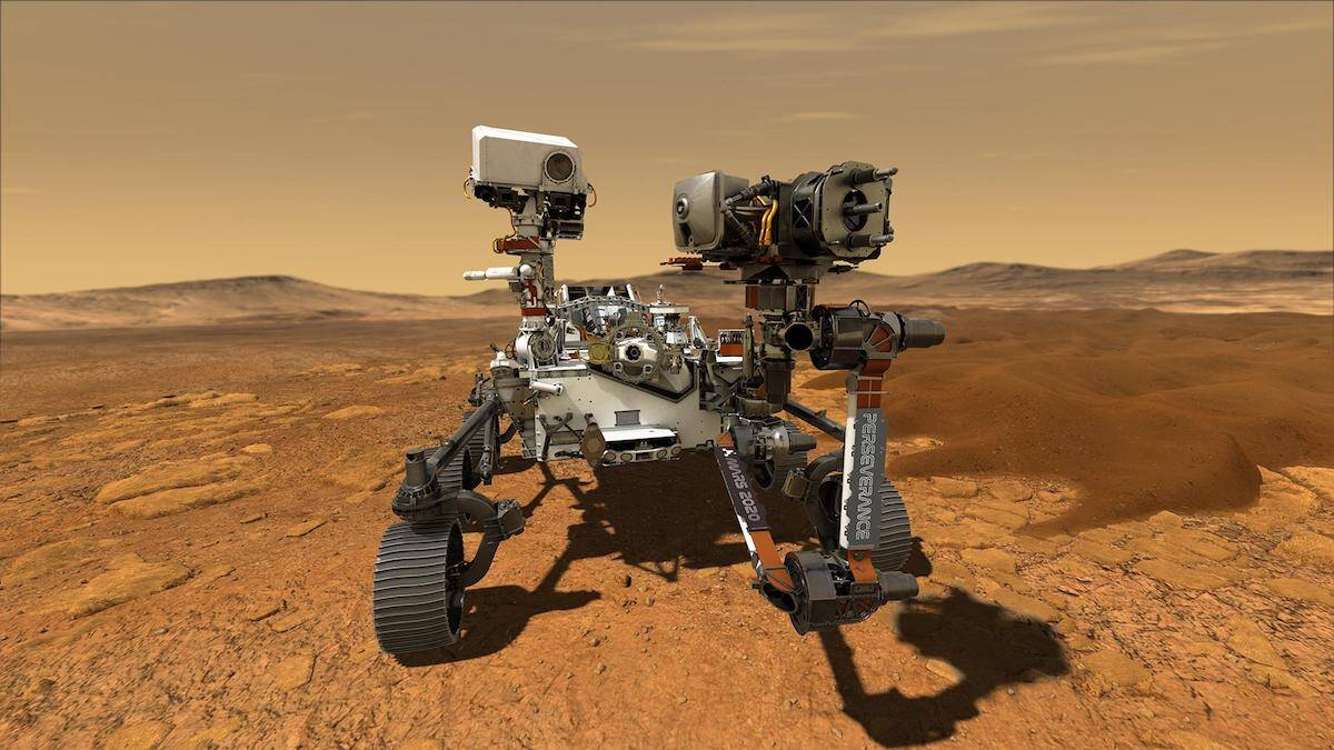 Perseverance rover will look for life on Mars