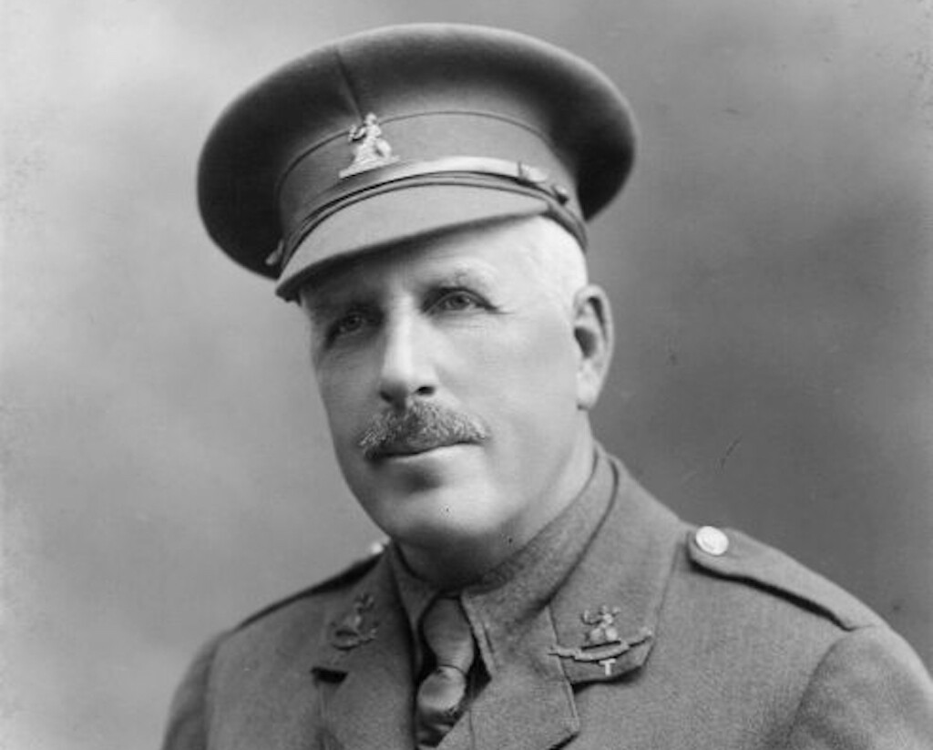 Colonel Horace Proctor-Beauchamp, Commanding Officer of the 5th Battalion led the Sandringham Company into oblivion.