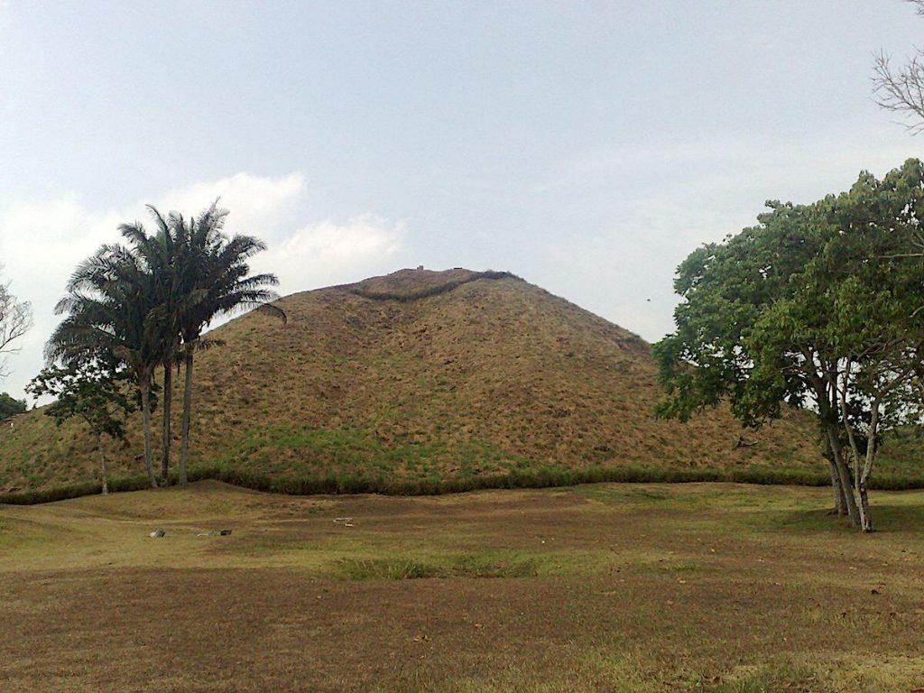 The Great Pyramid at La Venta viewed from the north.