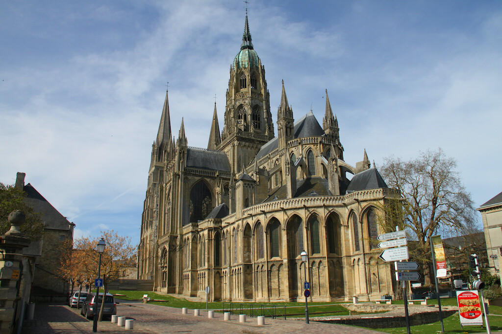 The Bayeux Cathedral.
