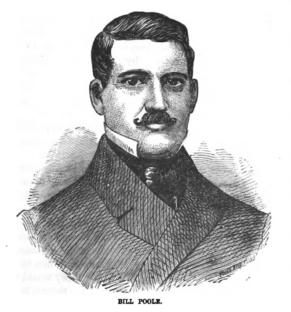 An engraving of William Poole.