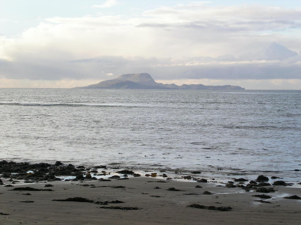 A view of Clare Island.