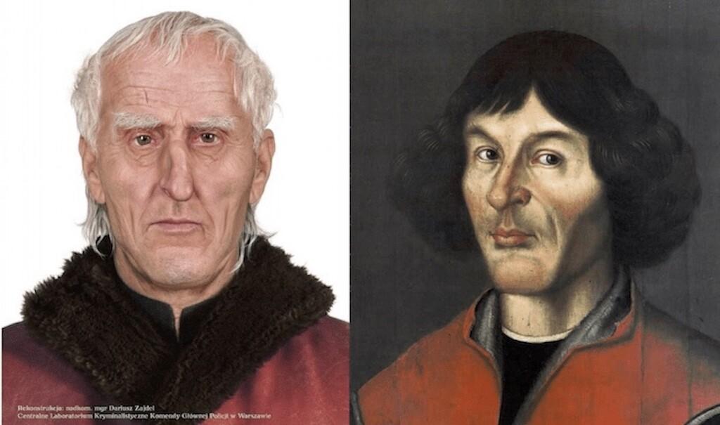 Copernicus Grave Facial Photos