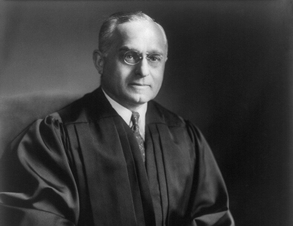 Associate Justice Felix Frankfurter of the United States Supreme Court.