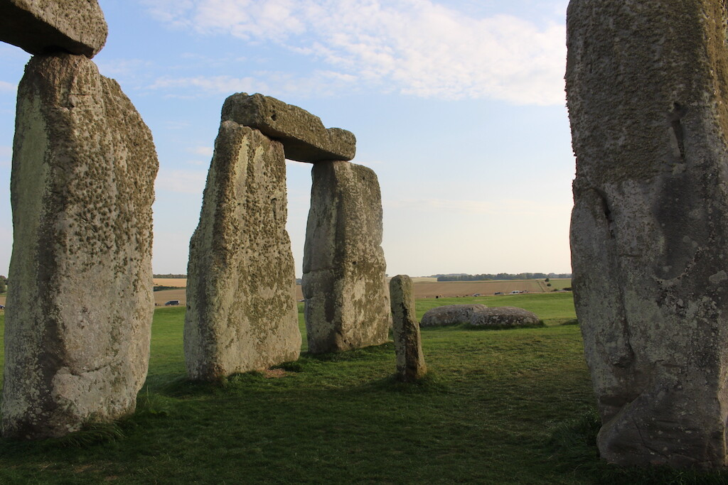 A view from inside the circle. Photo: Historic Mysteries.