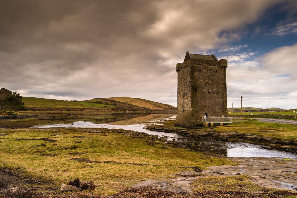 Rockfleet Castle where Grace O'Malley died.