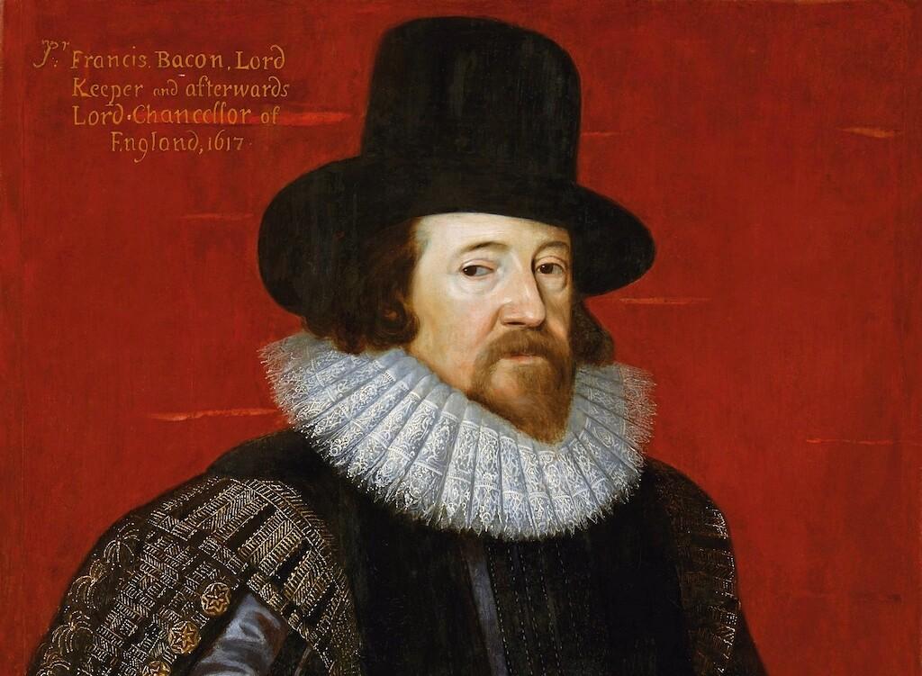 Portrait of Sir Francis Bacon (1617).