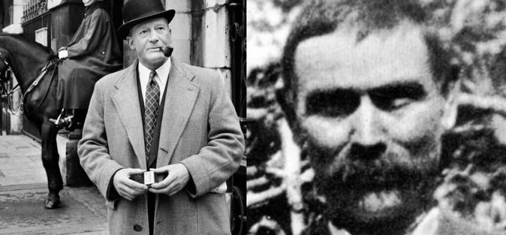 Robert Fabian (L) and Charles Walton (R)