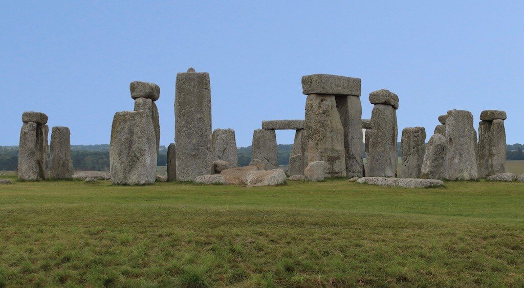 Stonehenge, circle of bluestones.