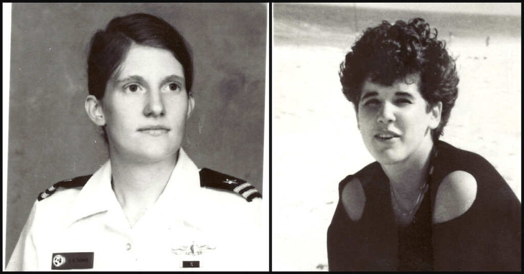 The Colonial Parkway Murders first victims were Cathy Thomas (L) and Rebecca Dowski (R).