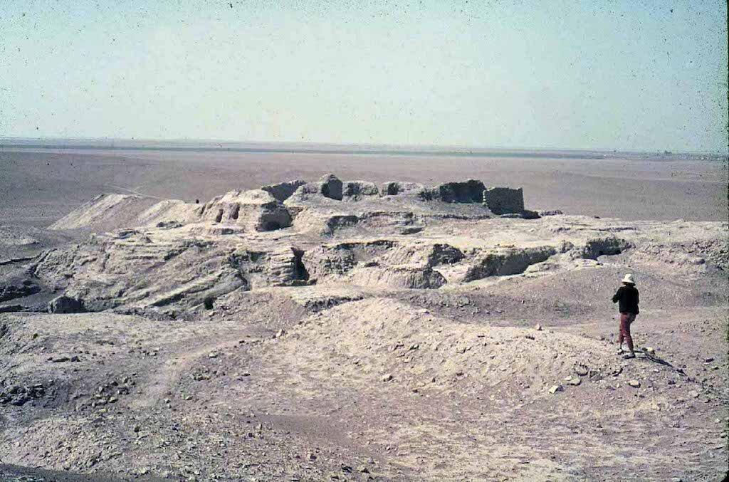 The ruins of Eridu. Image: Public domain.