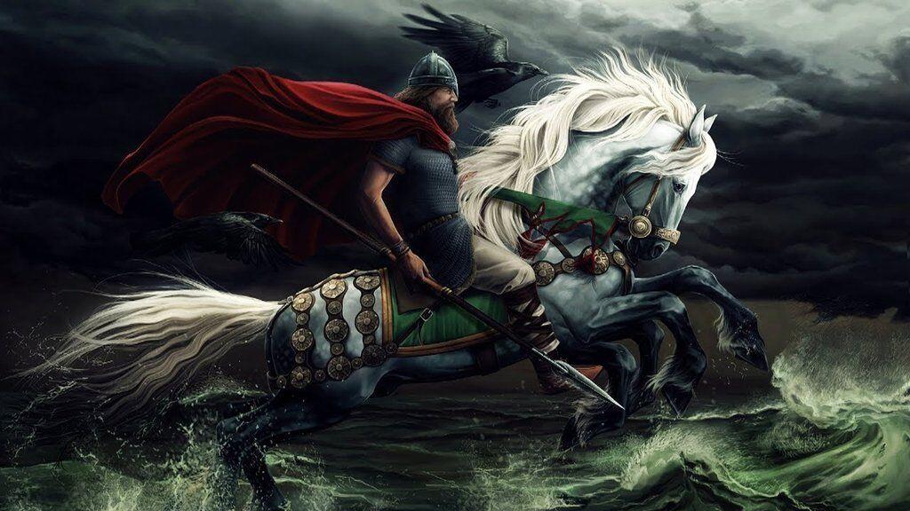 Sleipnir: Mythic Eight-Legged Horse of Odin Sleipnir