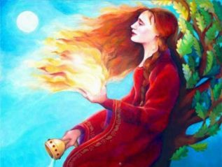 Celtic Goddess Brigid and the Story of the Enduring Deity