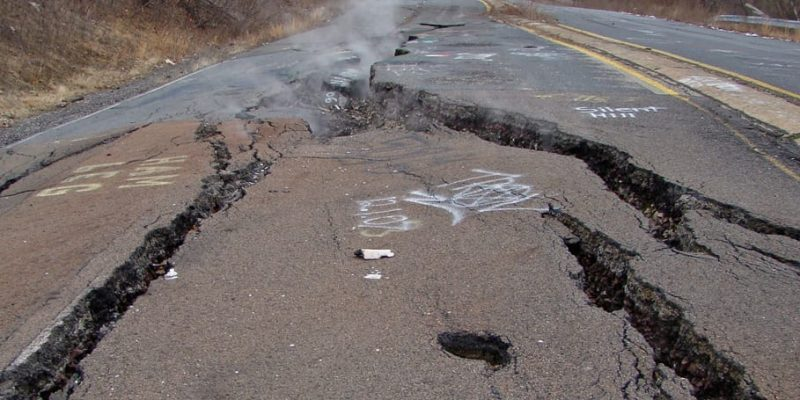 Centralia Mine Fire: Devastation from Underground