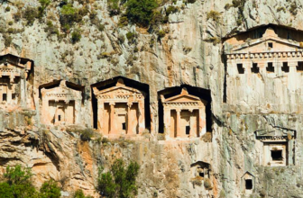 Kaunos: An Ancient City of Ruins and Rock Cut Tombs