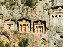 Kaunos: The Ancient Anatolian City of Rock-Cut Tombs and Ruins