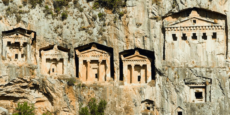Kaunos: An Ancient City of Ruins and Rock Cut Tombs