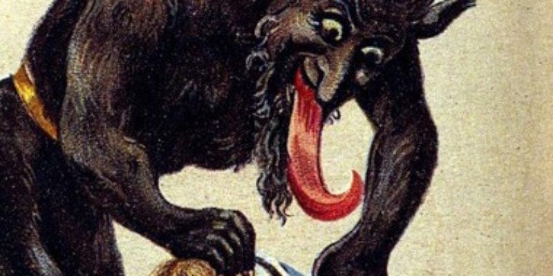 The Origin of Santa Claus and Krampus