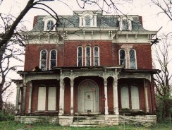 The History of Illinois' Haunted McPike Mansion