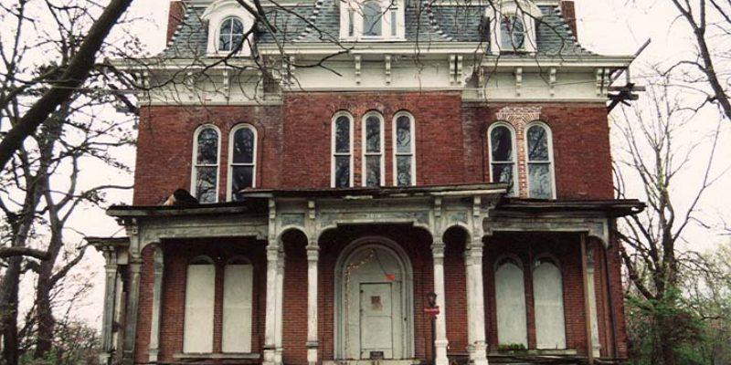 The History of Illinois' Haunted McPike Mansion
