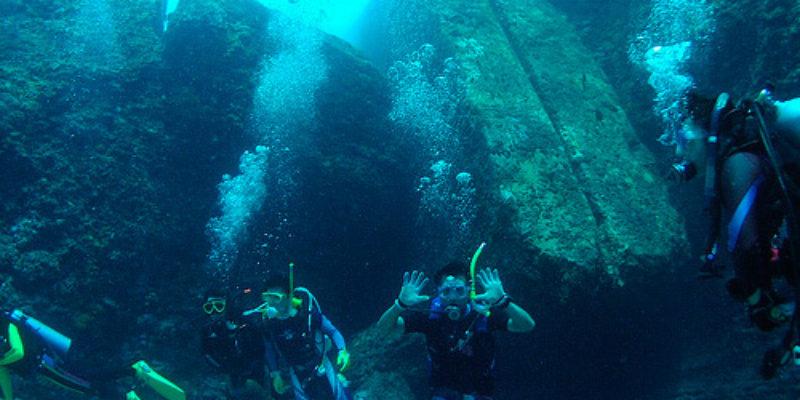 Submerged Yonaguni Jima Ruins