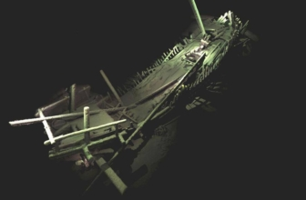 Discovery of Over 40 Ancient Shipwrecks in the Black Sea