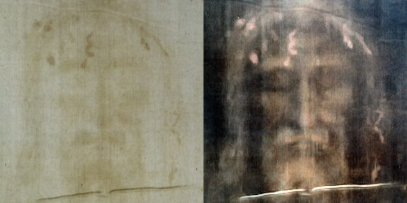 The Face on the Shroud of Turin
