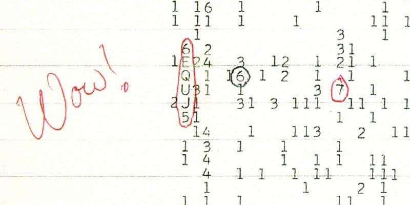 The Wow Signal from Space