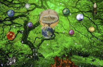Yggdrasil Tree of Life and the Nine Worlds of Norse Mythology