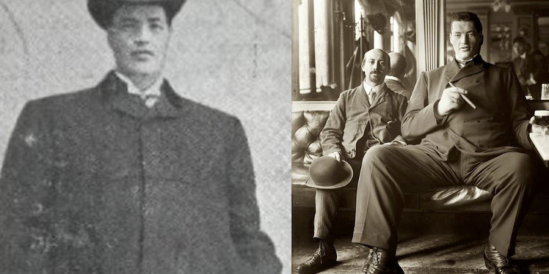 Adam Rainer: The Giant and the Dwarf