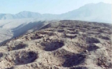 Unexplained Band of Holes at Pisco Valley, Peru