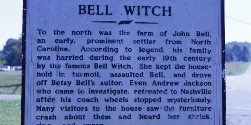 Bell Witch Haunting of Adams Tennessee