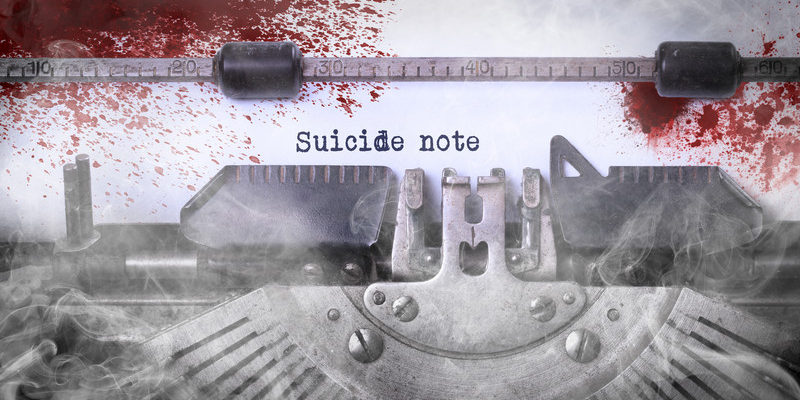 A Collection of Real Suicide Notes