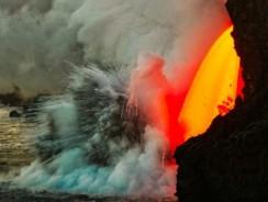 Hawaii's Kilauea Volcano Firehose Lava: Photos and Video