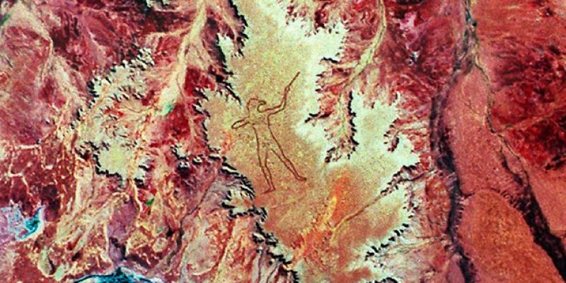"""The World's Largest Geoglyph: The """"Marree Man"""""""