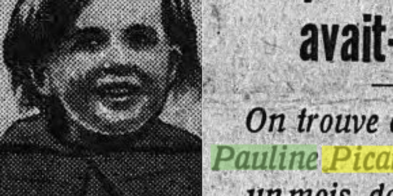 The Bizarre Story of Little Pauline Picard