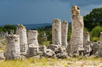 The Pobiti Kamani Stone Forests in Bulgaria