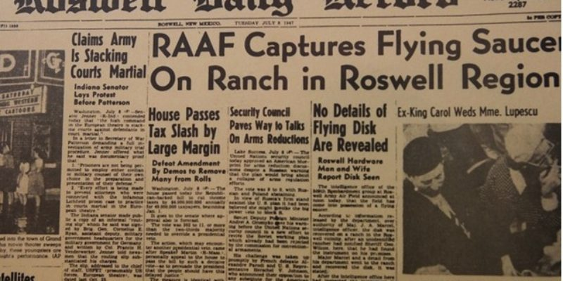 Roswell and CIA